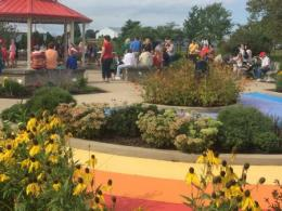 Van Wert MGV's Butterfly Garden in their Childrens' Garden