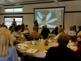 Go Native Participants learn about native plants.